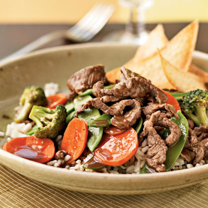Sirloin and Vegetable Stir-Fry Recipe
