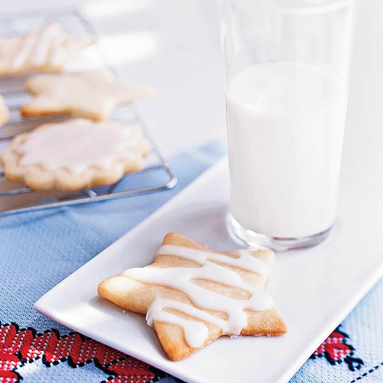 Classic Iced Sugar Cookies