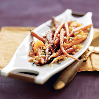 Roasted Cumin Carrots