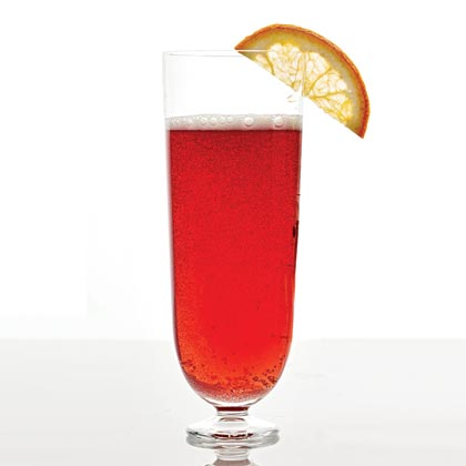 Cranberry-Champagne Cocktail Recipe