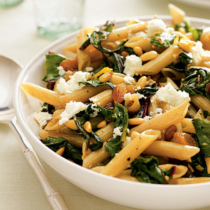 <p>Penne With Greens</p>