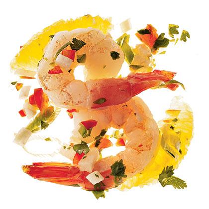 Spicy Shrimp Ceviche With Cilantro Recipe