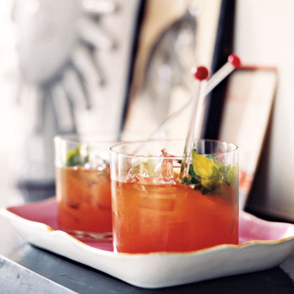 Bourbon and Blood Orange BlastRecipe