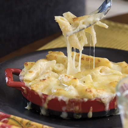 Three Cheese Pasta Bake Recipe Myrecipes Com