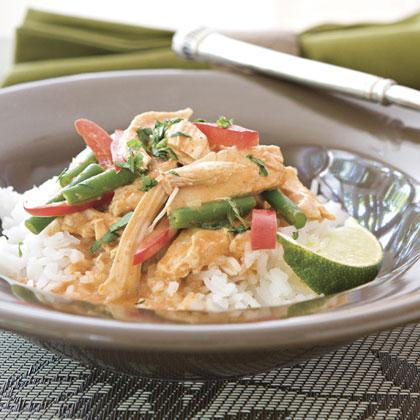 Spicy Chicken-Rice BowlRecipe