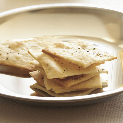 Salt-and-Pepper Crackers Recipe