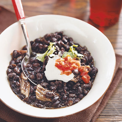 Beer-Braised Pork and Black Bean Soup