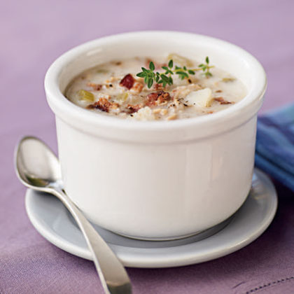 Easy clam chowder recipes from scratch