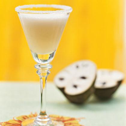 Cherimoya and Lemon Frozen Daiquiris