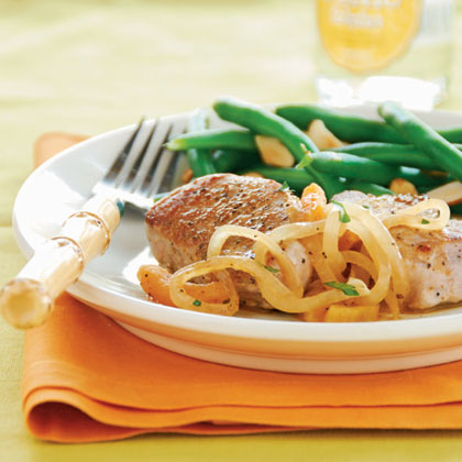 Pork Medallions with Apricot-Orange SauceRecipe