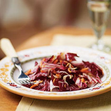 Radicchio, Endive, and Carrot Salad Recipe