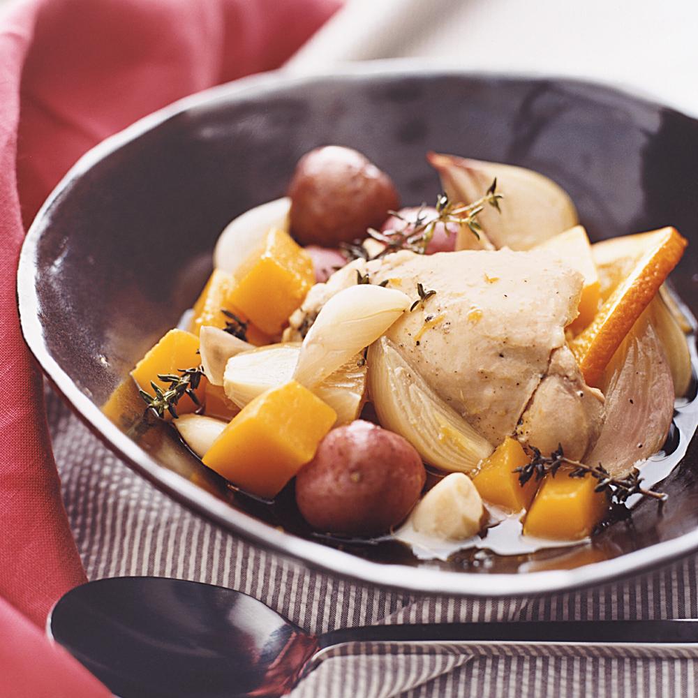 Orange Chicken with Potatoes