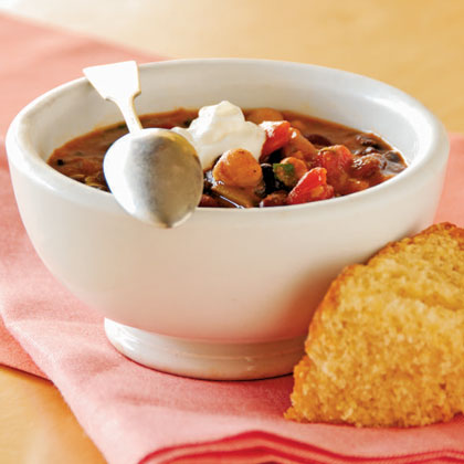Three-Bean Chili Recipe