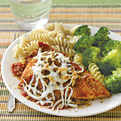 Skillet Chicken ParmesanRecipe