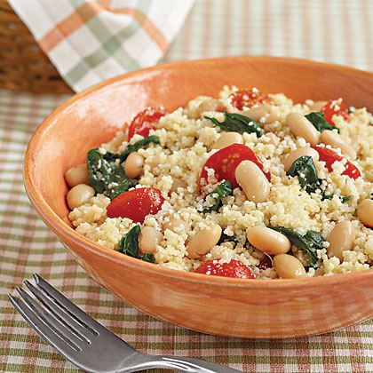 Veggie Couscous with White Beans Recipe