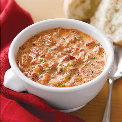 Tomato-Basil-Red Pepper Soup Recipe