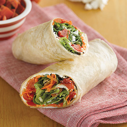 Wrap-and-Roll Sandwiches Recipe