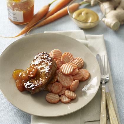 pork-apricot-carrots Recipe
