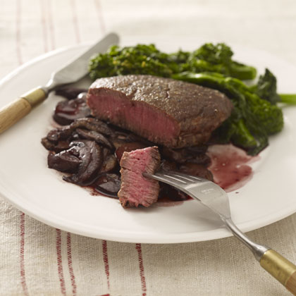 steak-mushrooms-seared Recipe
