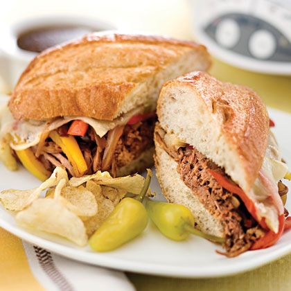 Cheesesteak-Style Sandwiches