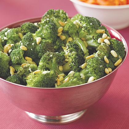 Roasted Broccoli with Garlic Recipe | MyRecipes