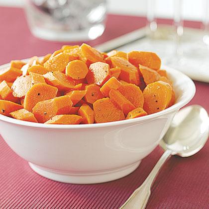 Honey-Glazed Carrots with Cumin Recipe