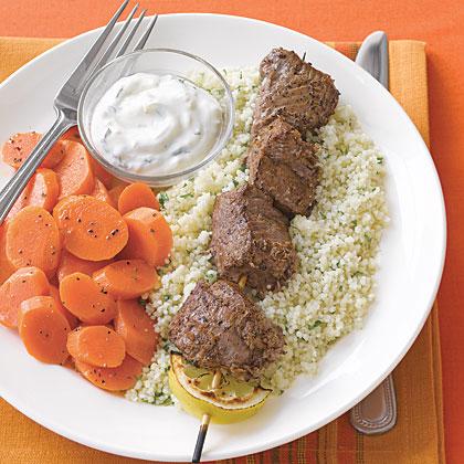 Moroccan-Spiced Lamb Kebabs Recipe