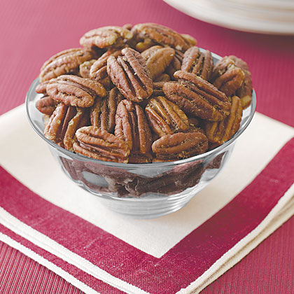 Roasted Spiced Pecans Recipe