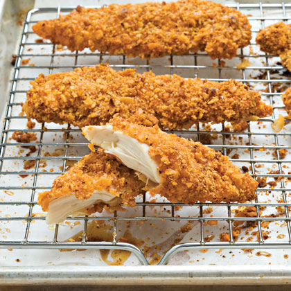 Pecan-Crusted Chicken TendersRecipe