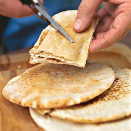 Sugared Pita Chips Recipe