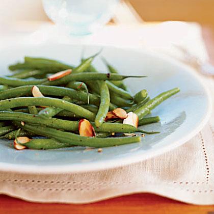 Green Bean Salad Amandine Recipe