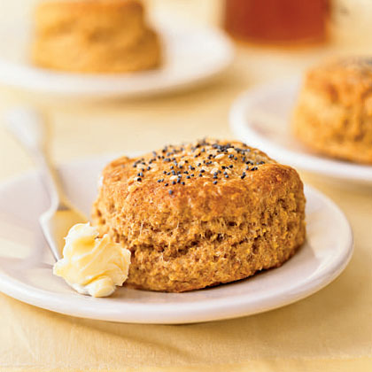 Seeded Cornmeal BiscuitsRecipe