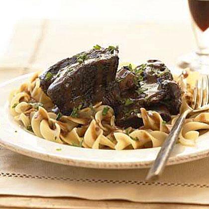 Cabernet-Braised Beef Short RibsRecipe