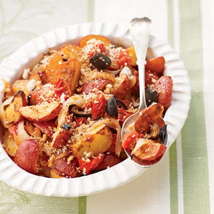 Dijon Vegetable Roast
