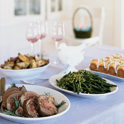 Easter Dinner Menu MenuThis festive meal is a pleasure to host because you do most of the preparation in advance.