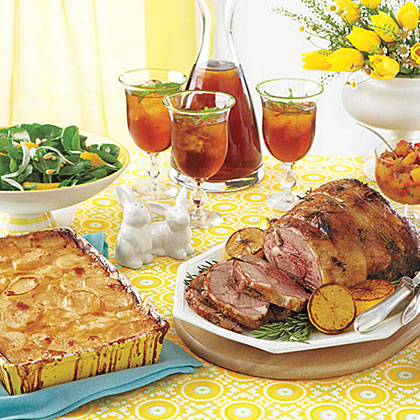 An Elegant Easter Feast