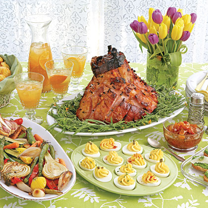 <p>Easter Supper Menu</p>