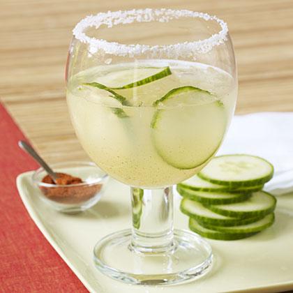 Cucumber and Chili Margarita