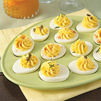Make the most of all those Easter eggs.Deviled Eggs Recipe