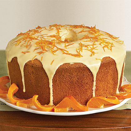 Orange Chiffon Cake Recipe Myrecipes Com