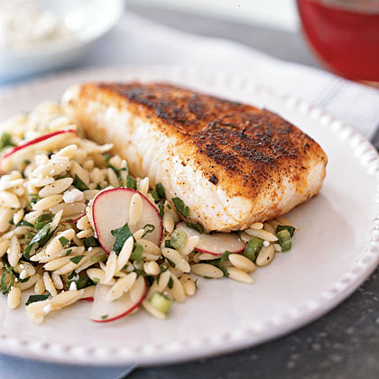 Blackened Halibut with Remoulade Recipe