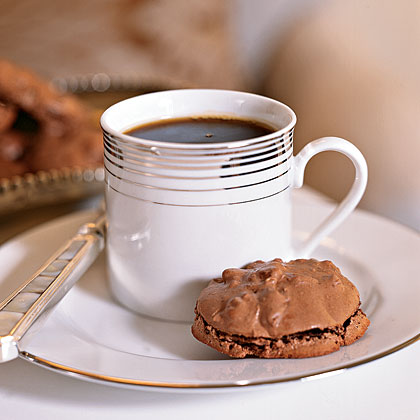 Chocolate-Pecan Macaroons