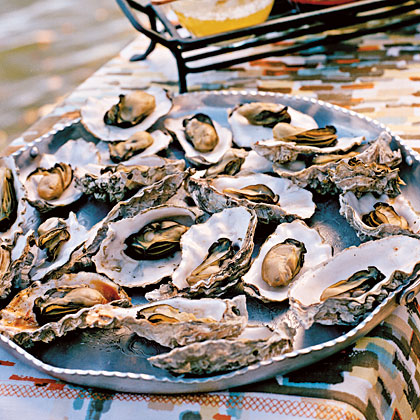 Grilled OystersRecipe
