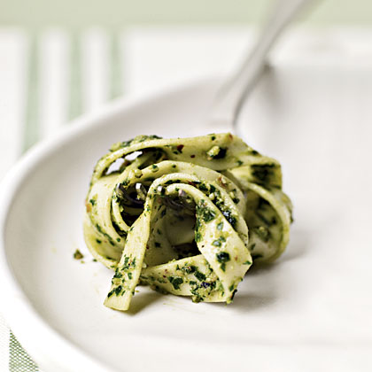 Parsley and Walnut Pesto