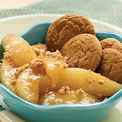 Sautéed Brown Sugar Pears