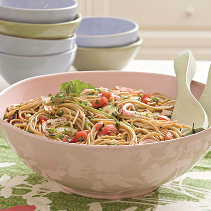 Tomato-Herb Pasta RecipeYou'll love this zesty side dish from Southern Living. It's perfect for a picnic in the park.
