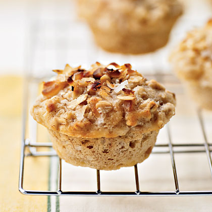 Tropical Muffins with Coconut-Macadamia Topping Recipe