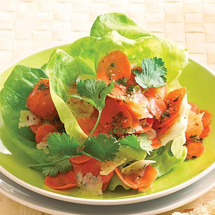Carrot Manchego Salad
