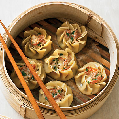 Pork and Shrimp Dumplings (Shu Mai) Recipe