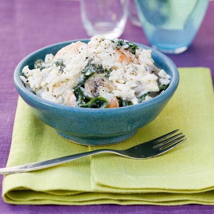 Creamy Shrimp and Rice Recipe